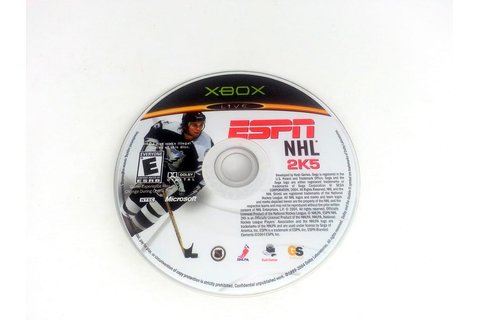 ESPN NHL 2K5 game for Xbox (Loose) | The Game Guy