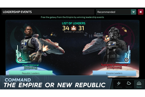 Star Wars™: Rise to Power - Closed Pre-Alpha for Android ...