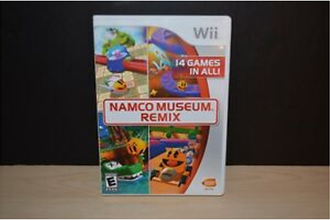 NAMCO MUSEUM REMIX WII GAME - 14 GAMES IN ALL -USED ...