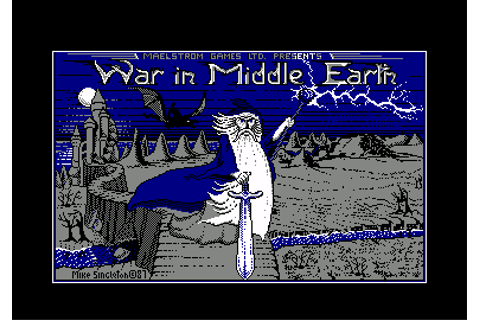 Download J.R.R. Tolkien's War in Middle Earth (Amstrad CPC ...
