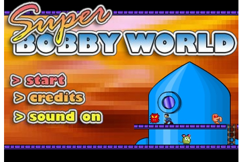 Super Bobby World Game - Play Free Adventure games - Games ...