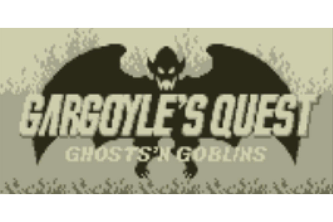 GARGOYLE'S QUEST | Virtual Console (Nintendo 3DS) | Games ...