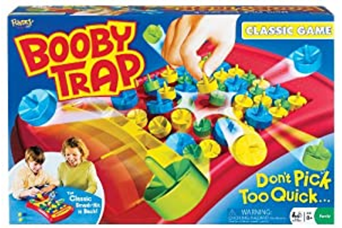 Amazon.com: Booby Trap Classic Tabletop Game: Toys & Games