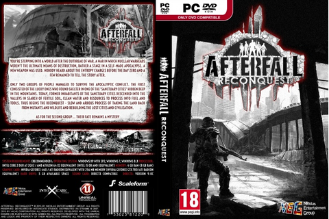 Afterfall: Reconquest PC Box Art Cover by AHO