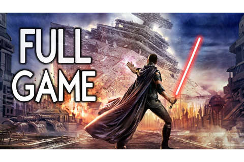 Star Wars The Force Unleashed - FULL GAME Walkthrough ...