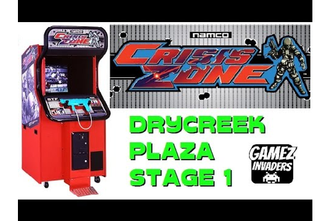 CRISIS ZONE! Arcade Shooter! Light Gun Game! Namco Time ...