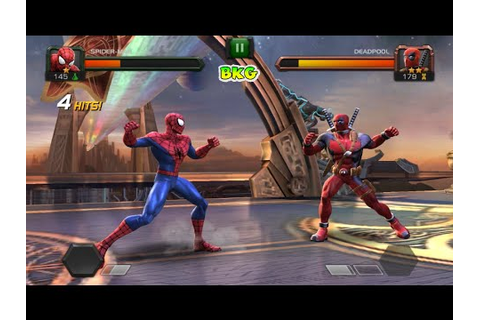 SPIDERMAN vs DEADPOOL and HULK and MORE Fighting Game ...
