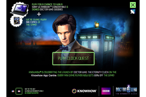 Doctor Who Online - News & Reviews - BBC And Intel Release ...