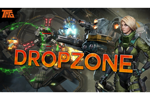 Dropzone Game - Sneaky Peaky! - YouTube