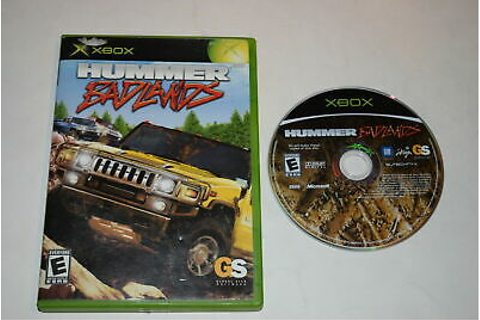 Hummer Badlands Microsoft Xbox Game Disc w/ Case ...