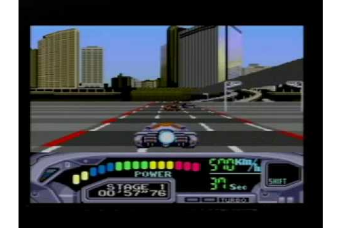 Outrun 2019 On SEGA Mega Drive (Genesis) Part 1 - YouTube