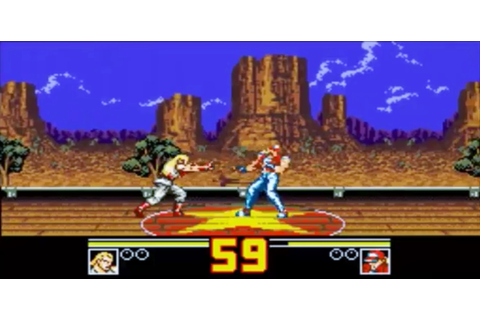 Review - Fatal Fury Special - Game Gear - Neo Player ...