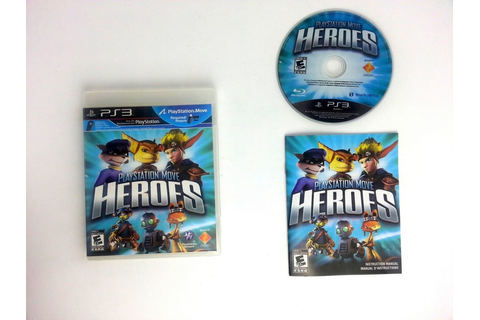 PlayStation Move Heroes game for Playstation 3 (Complete ...