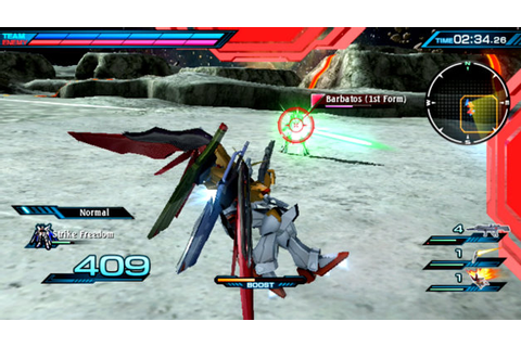 Mobile Suit Gundam: Extreme VS-Force Game | PSVITA ...