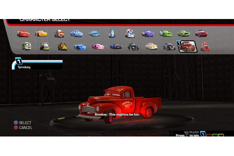 Cars 3: Driven to Win Game How To Unlock All Characters