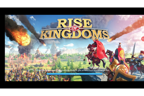 Rise of Kingdoms: The Lost Crusade game - YouTube