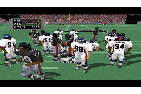Madden NFL 99 PS1 Gameplay HD - YouTube