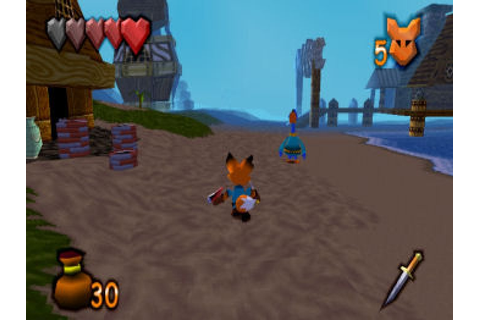 Kingsley's Adventure (1999) by SCE Studio Liverpool PS game