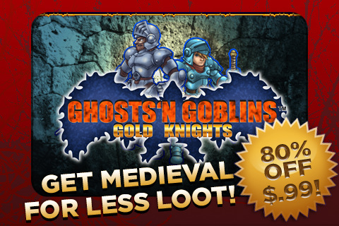 GHOSTS'N GOBLINS GOLD KNIGHTS IPA Game Version 1.00.06 ...