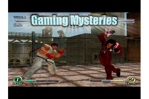Gaming Mysteries: Capcom Fighting All-Stars (PS2 / Arcade ...