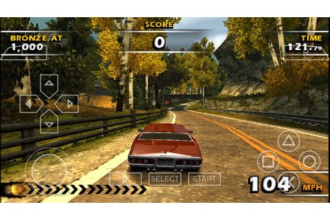 Burnout Dominator PSP CSO Free Download & PPSSPP Setting ...