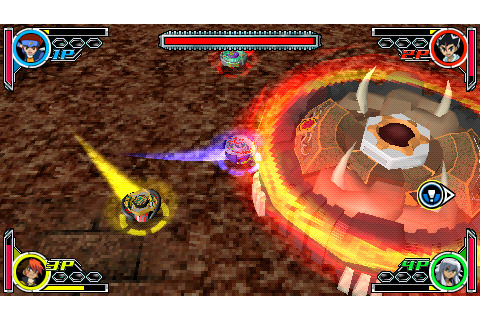 Download / Télécharger Metal Fight Beyblade Portable psp ...