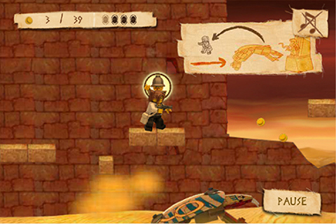 Lego Pharaohs Quest Online game on Behance