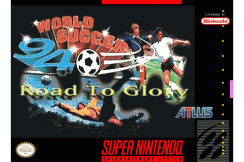 World Soccer 94 - Road To Glory ROM - Super Nintendo (SNES ...