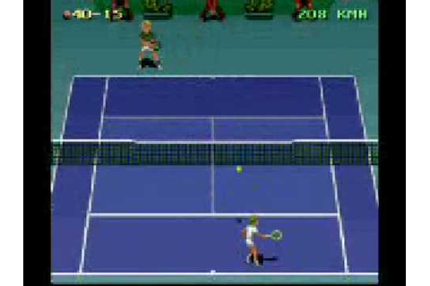 Jimmy Connors Pro Tennis Tour [SNES] - YouTube
