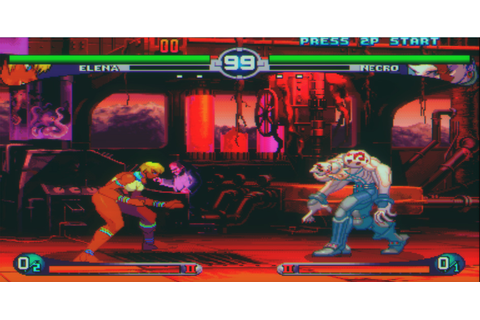 Street Fighter III 2nd Impact - Giant Attack (US) ROM