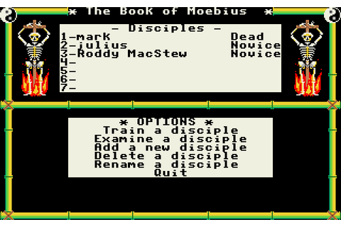 Moebius: The Orb of Celestial Harmony (1987 - DOS). Ссылки ...