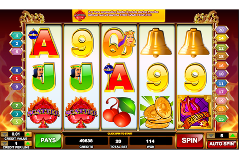 So Hot Slots Review - Online Slots Guru
