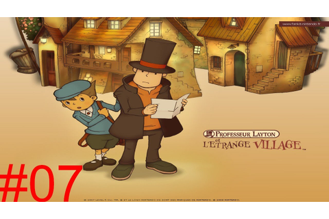Professeur Layton et L'Etrange Village épisode 07 - YouTube