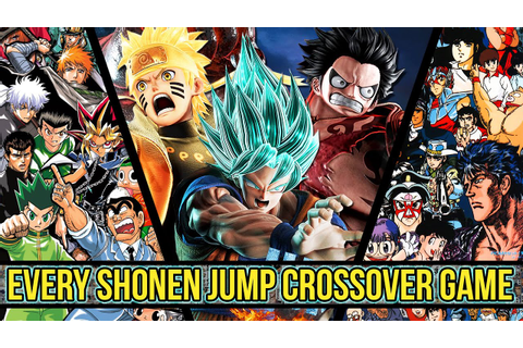 The History Of Every Shonen Jump Crossover Game Leading Up ...