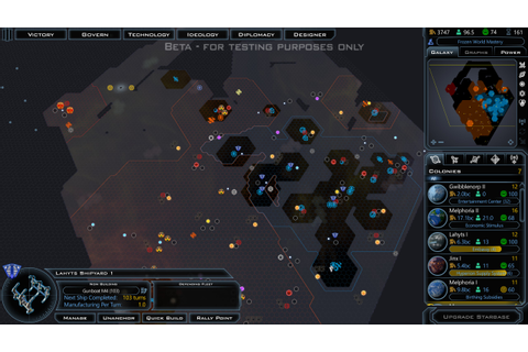Galactic Civilizations III Preview Review