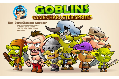 Goblins Game Character Sprites - Game Graphic Assets ...