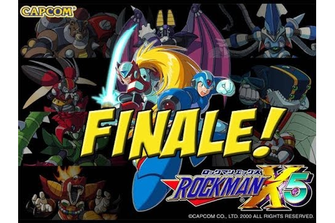 Mega Man X5: FINALE! - YouTube