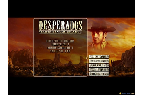 Desperados: Wanted Dead or Alive gameplay (PC Game, 2001 ...