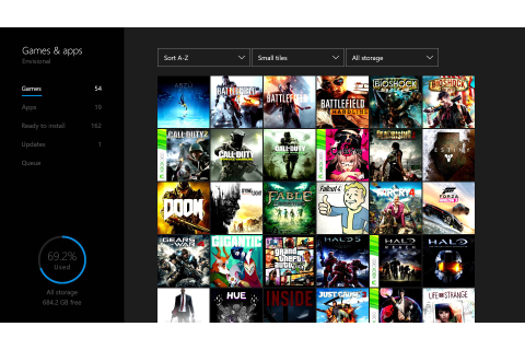 How to move your Xbox One games to a new Xbox One S ...