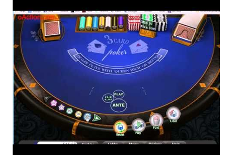 Three Card Poker Elite FREE @ Mobile Casino Action | Best ...