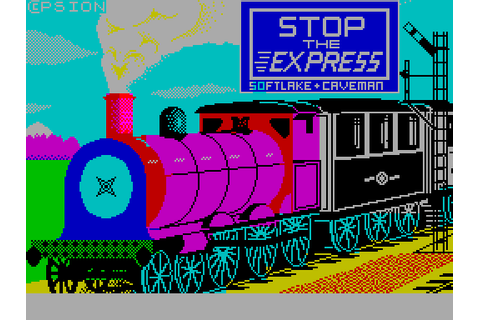 Stop the Express | Top 80's Games