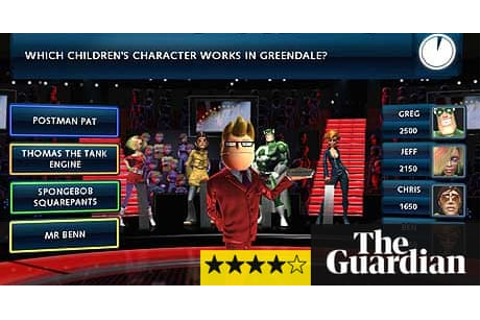 Game review: Buzz! Quiz TV | Games | The Guardian