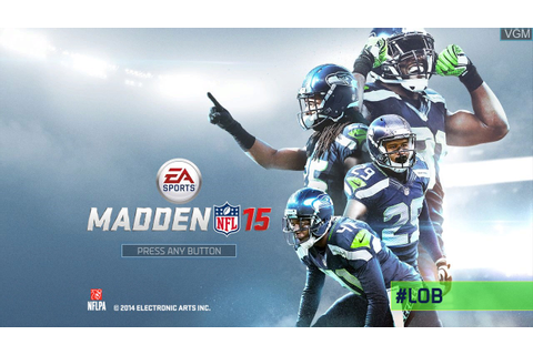 Madden NFL 15 for Microsoft Xbox 360 - The Video Games Museum