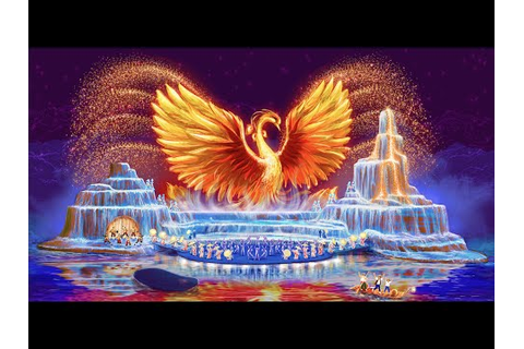 The Fountain of Dreams Night Show Wuyishan - YouTube