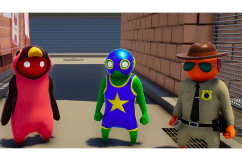 Gang Beasts Official Gameplay Trailer - YouTube