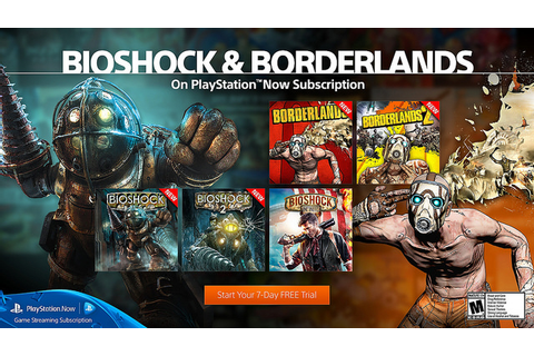 BioShock and Borderlands Series Now Available on PS Now ...