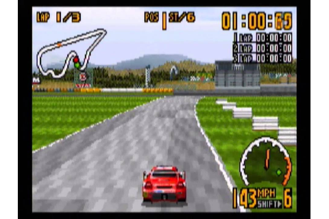 Top Gear GT Championship (GBA) gameplay - YouTube