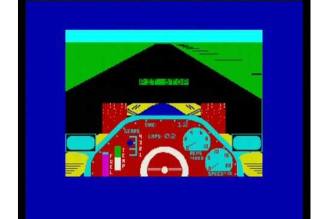 CHEQUERED FLAG (ZX SPECTRUM) - YouTube