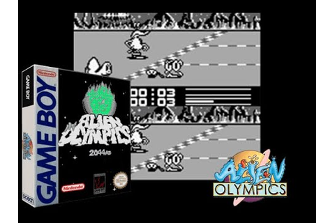 Alien Olympics 2044 AD - GB + Emu and Rom - YouTube