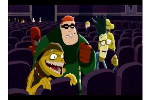 League of Super Evil - At the Movies - YouTube